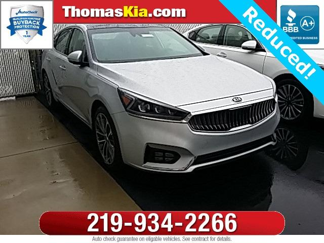 Kia Cadenza technology 2017