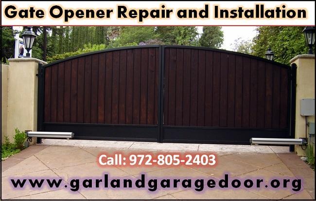 24/7 Gate Installation Service Starting $26.95 Garland, Dallas