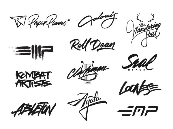 Hand Lettering Logo Designer