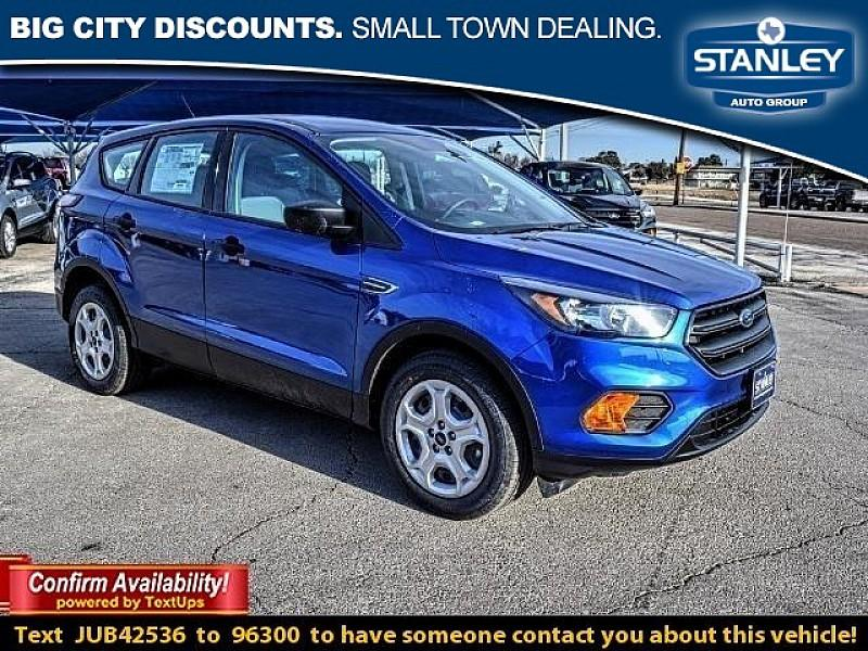 Ford Escape 4d SUV FWD S 2018