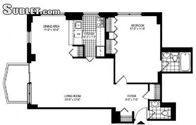 $4450 One bedroom Apartment for rent
