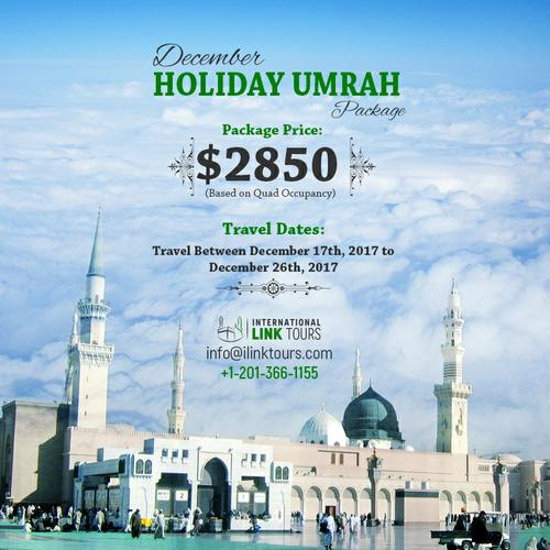 Get nearer to Allah SWT by performing December Umrah