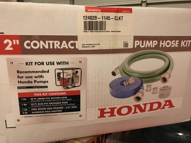 Honda Water Pump & Hoses