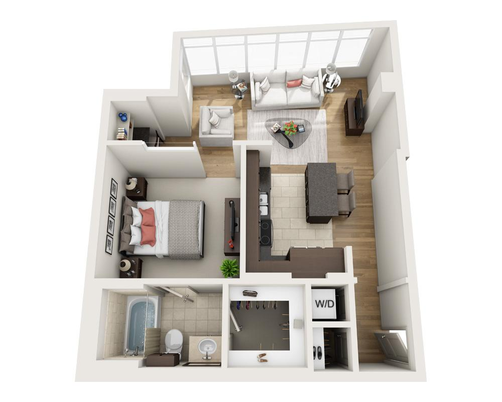$3263 One bedroom Apartment for rent