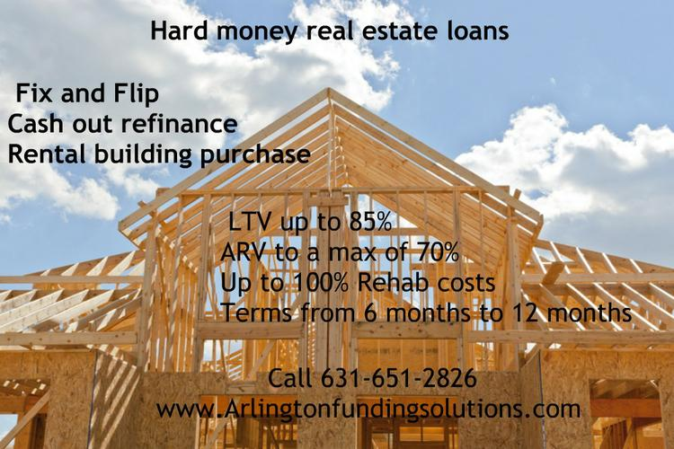 All types of Real Estate loans First position lender only