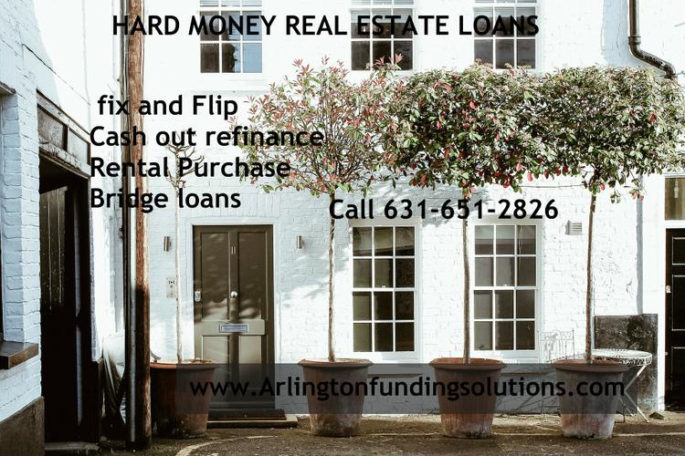 Private Money real estate solution / ix and Flip loans/ Cash out refinance
