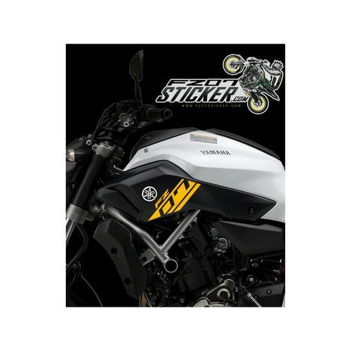 Yamaha FZ-07 side cover sticker (01)
