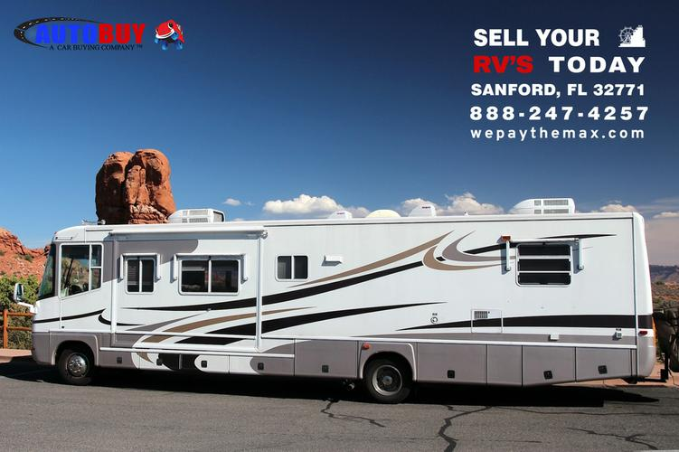 Max cash for your Used RV In Sanford - AutoBuy