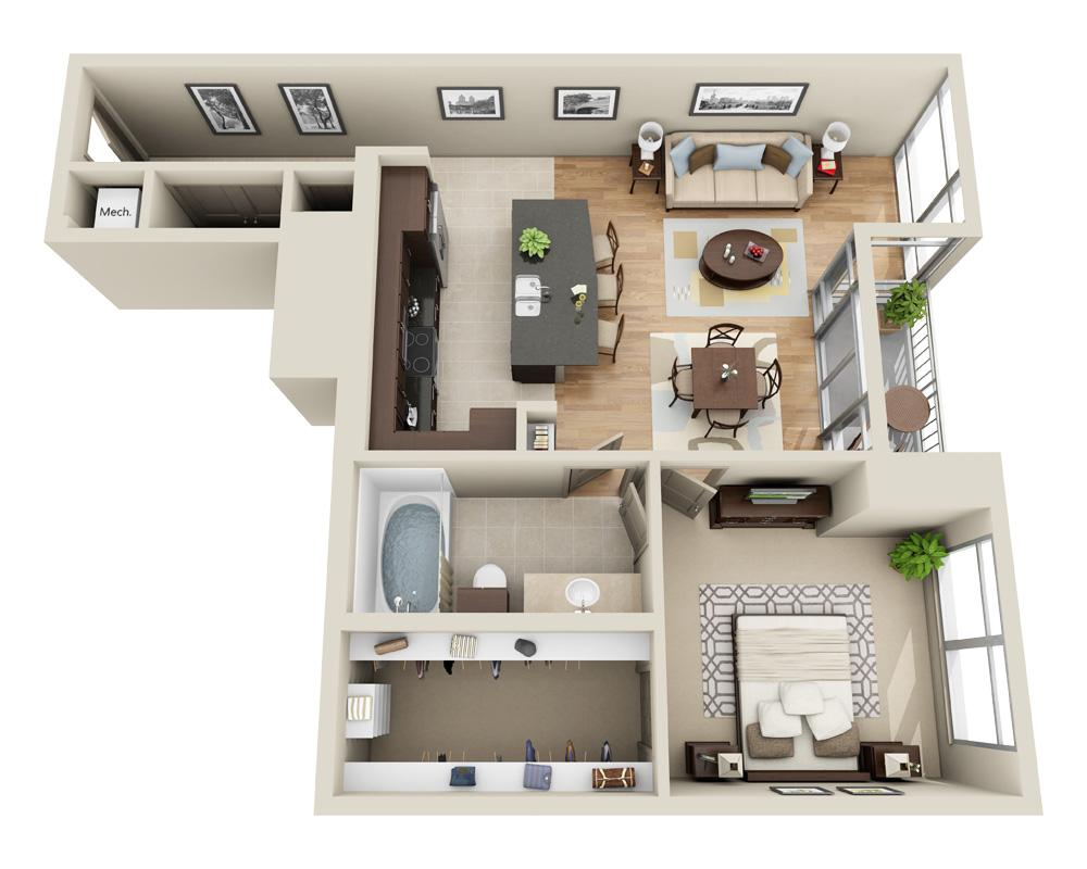 $2594 One bedroom Apartment for rent