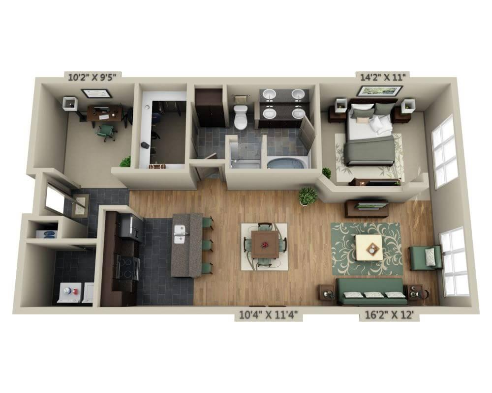 $1471 One bedroom Apartment for rent