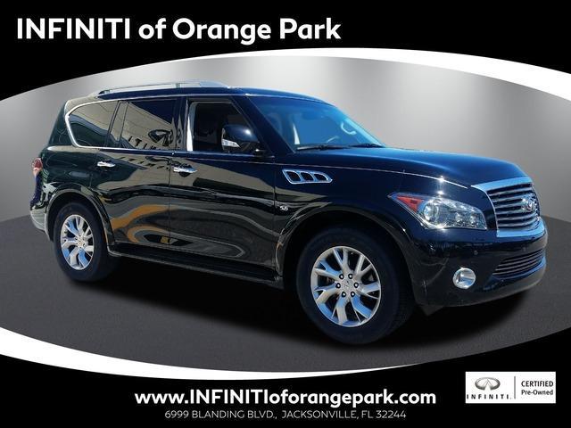 Infiniti QX80 THEATER 2014