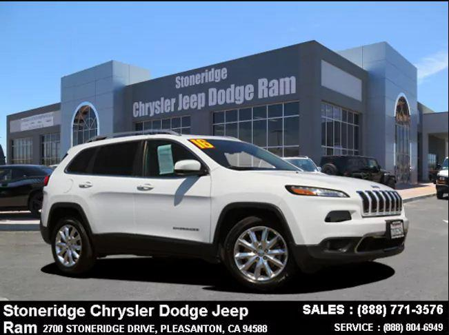 Certified Used 2016 Jeep Cherokee Limited FWD SUV For Sale in Dublin CA
