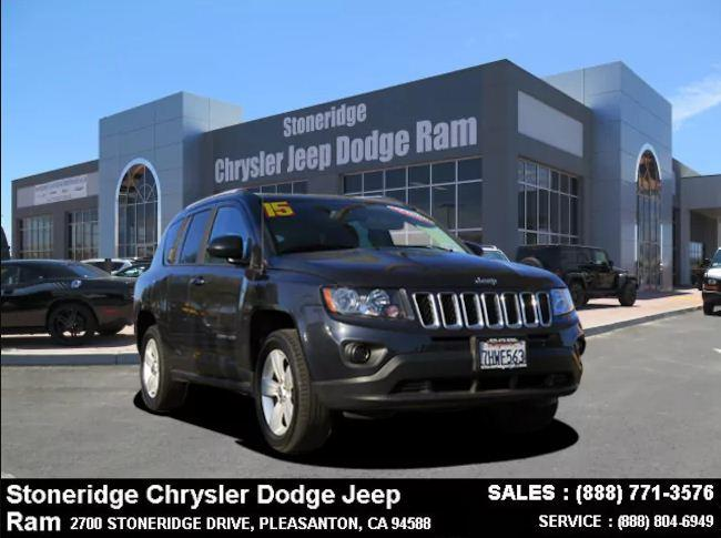 Certified Used 2015 Jeep Compass Sport FWD SUV For Sale in Dublin CA