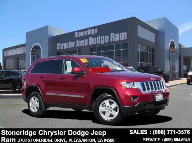Used 2012 Jeep Grand Cherokee Laredo SUV For Sale in Dublin CA