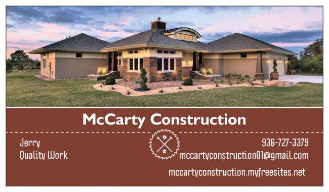 McCarty Construction