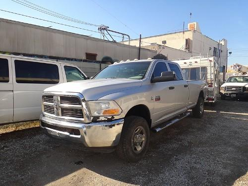 2011 DODGE RAM 2500 4X4 DIESEL PICK UP TRUCK WITH 5TH WHEEL GOOSE NECK HITCH