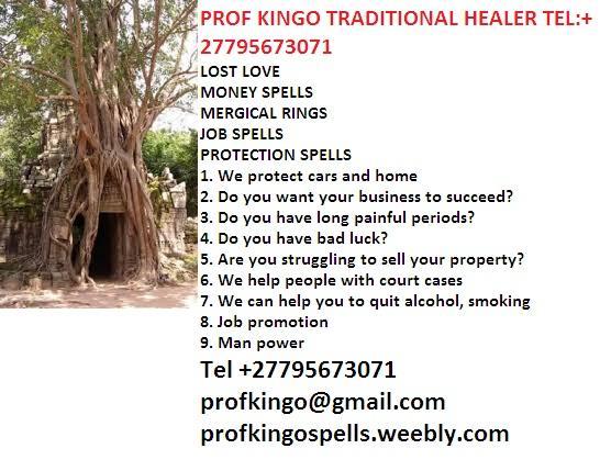 +27795673071Best Herbalist Healer - Top Rated Traditional Healer prof kingo