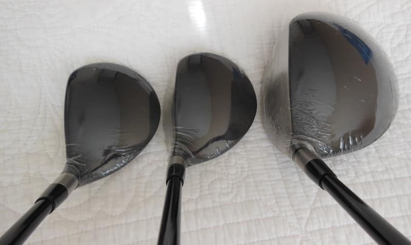 New Mens Adams Golf A70S SET - Driver, 3 and 5 Fairway Woods