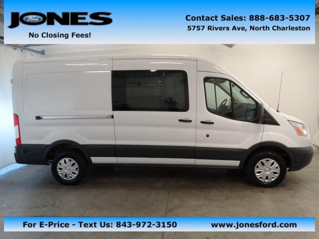 Ford Transit Cargo Van Mid-Roof 2015