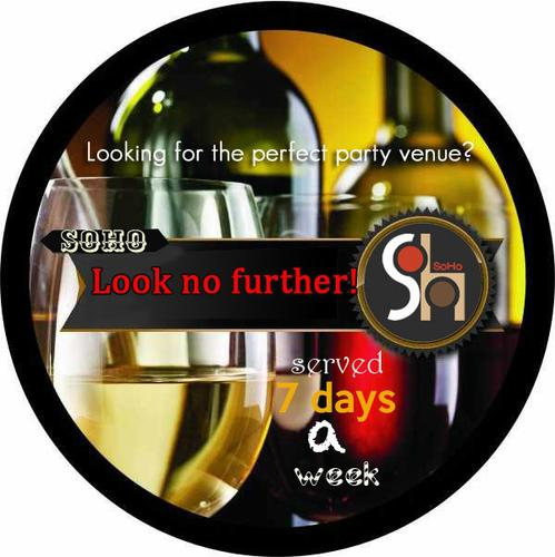 Company parties cork at SOHO-Occasions | Event Management | Entertainment | Parties