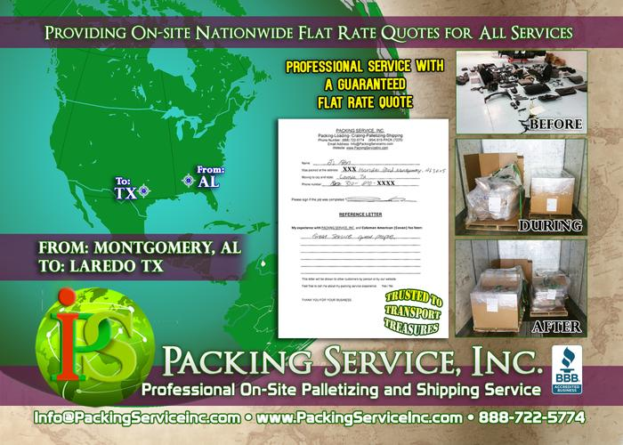 Packing Service, Inc. - Professional Shipping in Dallas, Texas