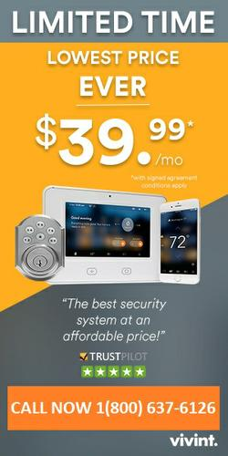 VIVINT HOME SECURITY 1800-637-6126 FREE PROFESSIONAL INSTALLATION | $0 ACTIVATION FEE