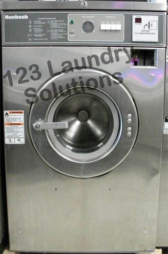 Huebsch Front Load Washer 208-240v Stainless Steel HC27MD2OU40001 Used
