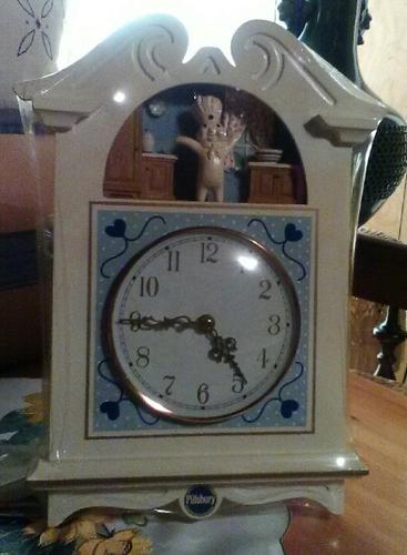 Pillsbury dough boy clock