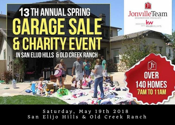 HUGE San Elijo Hills Community EVENT & GARAGE SALE 100 + Homes Participating!