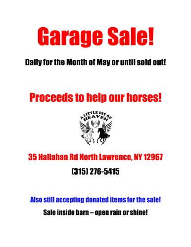 Garage Sale Daily 10-6