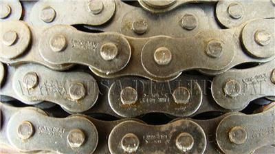 LINK BELT RIVETED SINGLE ROW ROLLER CHAIN