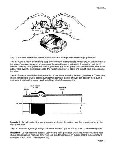 See-Thru Radiator Hose Sight Glass Kit (1.25