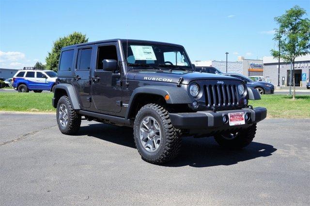 Jeep Wrangler Unlimited Rubicon Hard Rock 2017