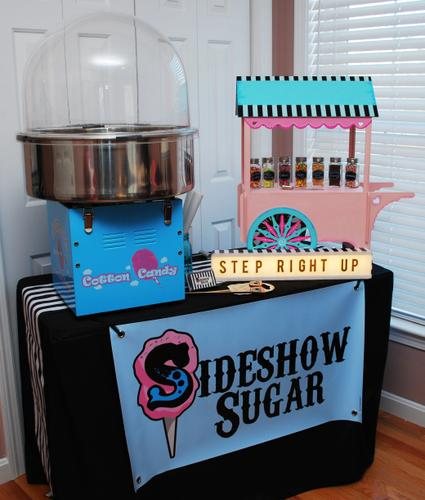The Traveling Cotton Candy Bar