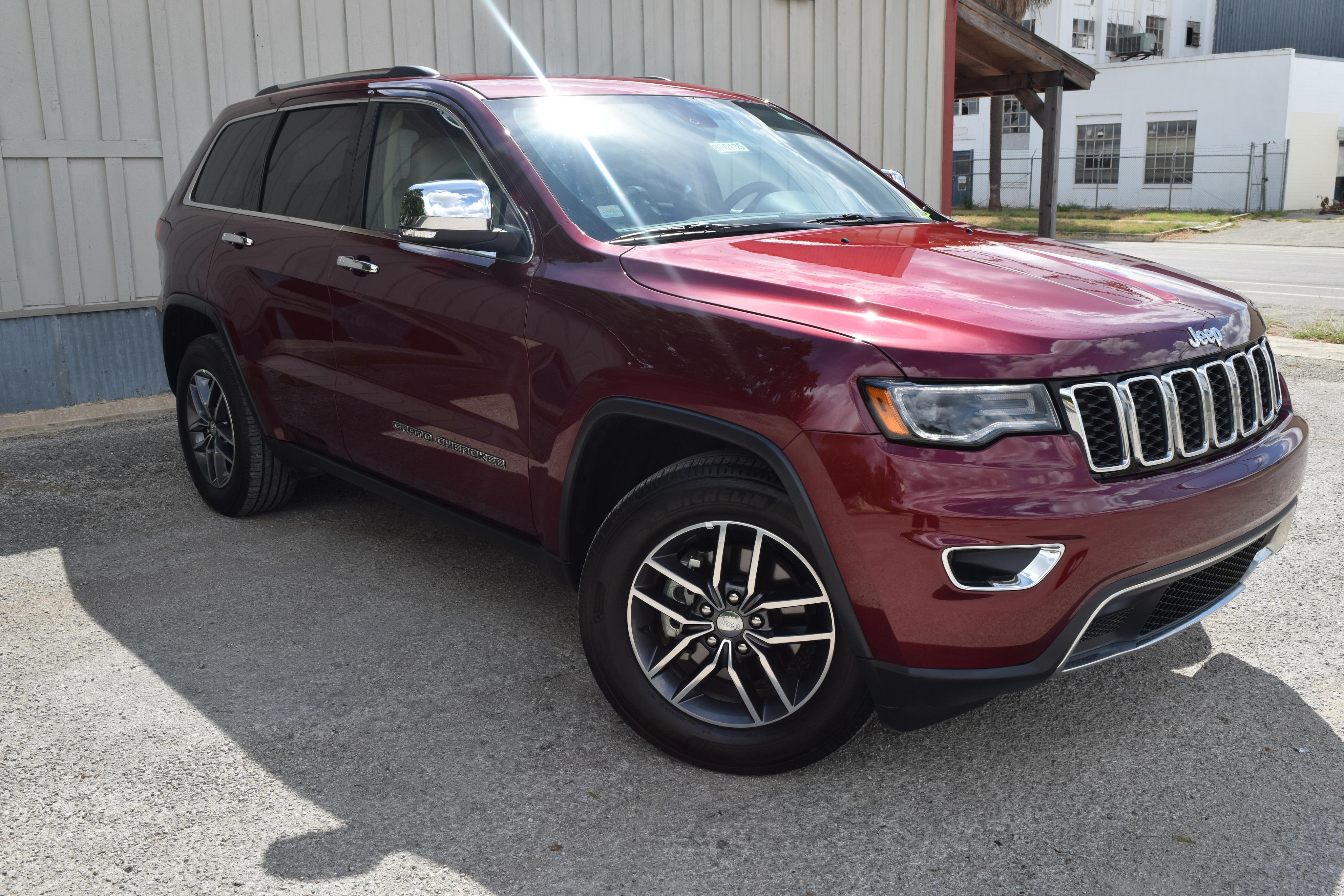 Jeep Grand Cherokee Limited RWD 2018