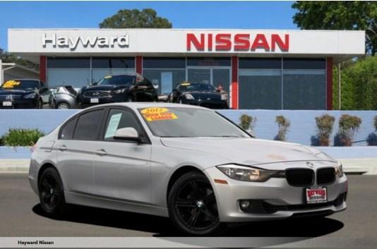 2012 BMW 328I SEDAN  ( Hayward Nissan : CALL (800) 644-1392 ) - $17,988