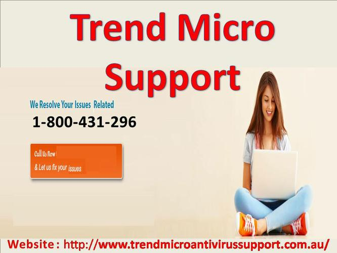Trend Micro Support Phone Number 1-800-431-296.