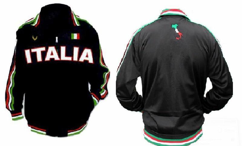 Buy Great Italian Soccer Jacket Online from Vipele