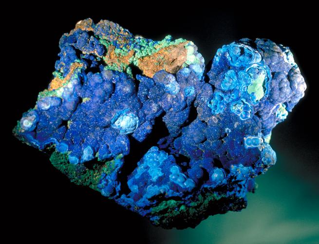 High quality natural azurite