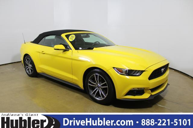 Ford Mustang 2dr Conv EcoBoost Premium 2016