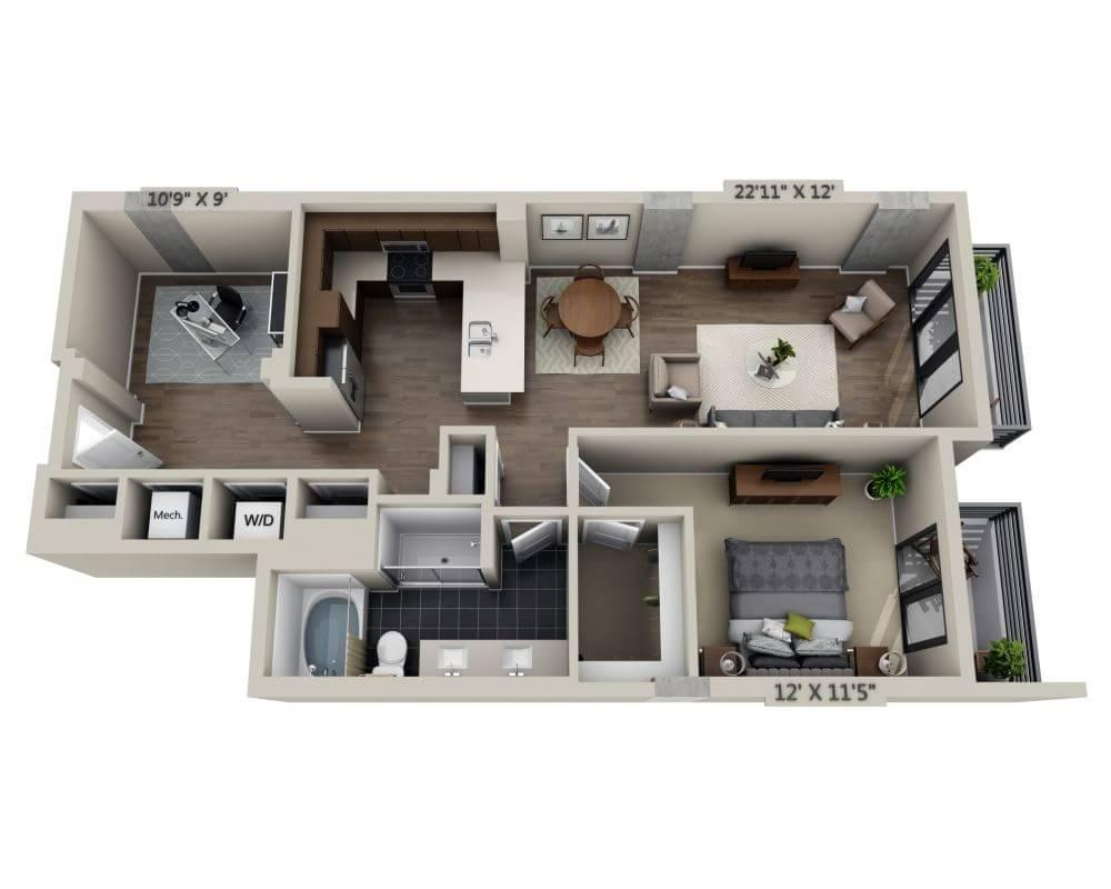 $2790 One bedroom Apartment for rent
