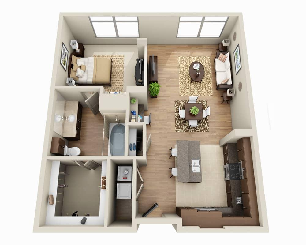 $2586 One bedroom Apartment for rent