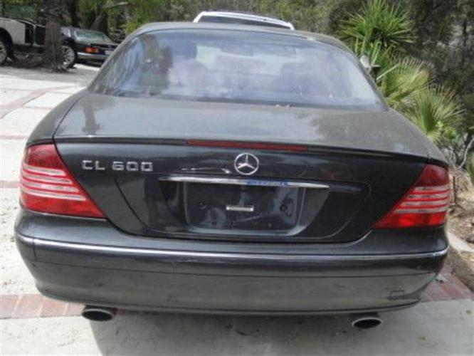 Mercedes-benz Cl-class 97200 Miles