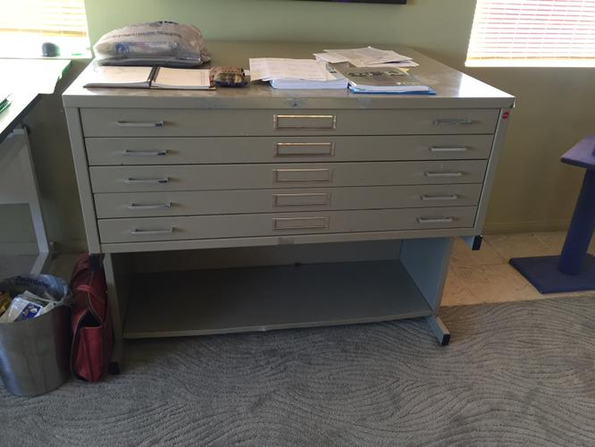 For Sale Large Metal Flat File