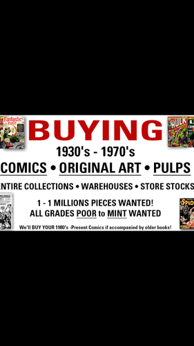 Ca$h for Old Comic Books