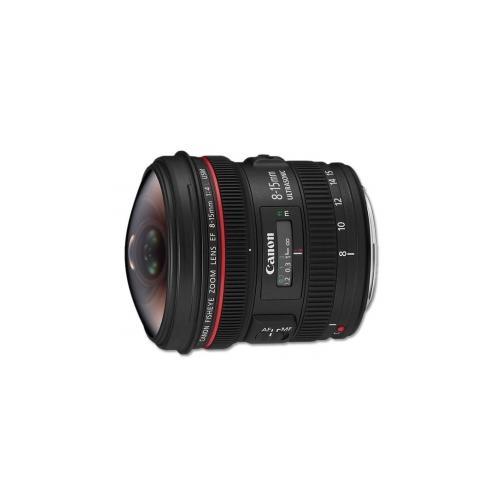 Canon EF 8-15mm f/4L USM fish-eye