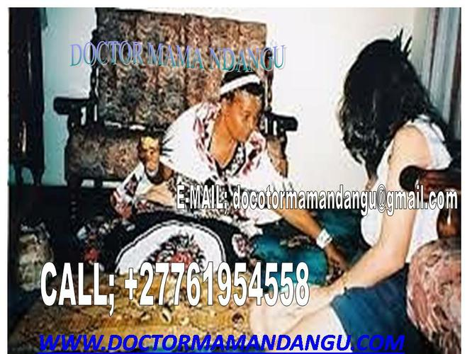 the most trusted woman doctor  mamandangu+27761954558