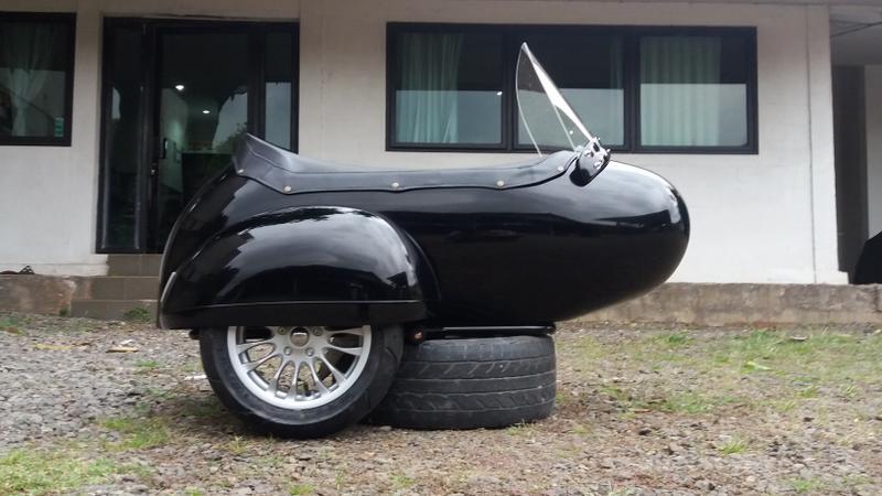 Sidecar Kit for Vespa