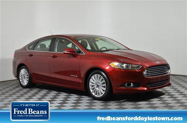 Ford Fusion SE Luxury Hybrid FWD I4 *Ford Certified* 2015