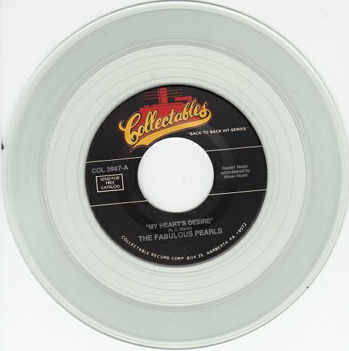 FABULOUS PEARLS & CALVANES ~My Heart's Desire M-45*CLEAR WAX *